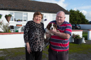 Aileen & John McCarthy at their home in Lattin